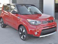 Red 2018 Kia Soul Plus FWD 6-Speed Automatic with