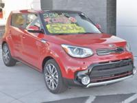 Red 2018 Kia Soul Exclaim FWD 7-Speed Automatic I4
