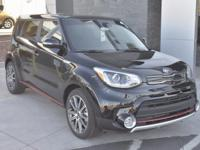 Black 2018 Kia Soul Exclaim FWD 7-Speed Automatic I4