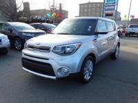 CARFAX One-Owner. Clear White 2018 Kia Soul Plus FWD