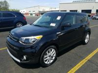 Certified. Black 2018 Kia Soul Plus FWD 6-Speed
