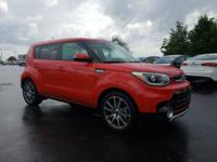 2018 Kia Soul Exclaim Inferno Red CARFAX One-Owner.