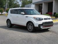 Clear White 2018 Kia Soul Exclaim FWD 7-Speed Automatic