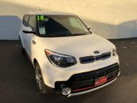 Clear White 2018 Kia Soul Exclaim FWD Automatic 1.6L