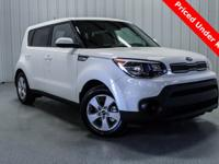 Clear White 2018 Kia Soul FWD Automatic 1.6L 4-Cylinder