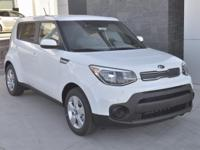 White 2018 Kia Soul FWD 6-Speed Automatic with