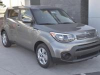 Gray 2018 Kia Soul FWD 6-Speed Automatic with