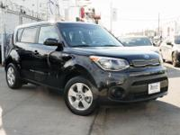 Recent Arrival! Certified. 2018 Kia Soul Shadow Black