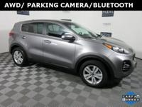 One Owner AWD Sportage LX, ABS brakes, Electronic