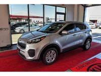 We are excited to offer this 2018 Kia Sportage. This