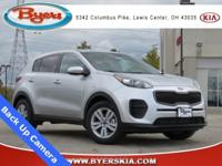 New Price! Clean CARFAX. Certified. 2018 Kia Sportage