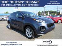 Pacific Blue 2018 Kia Sportage LX AWD 6-Speed Automatic