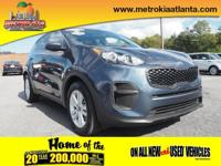 For a smoother ride, opt for this 2018 Kia Sportage LX