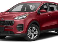 This 2018 Kia Sportage 4dr LX FWD features a 2.4L 4