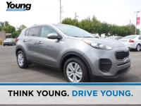 2018 Kia Sportage LX Mineral Silver CARFAX One-Owner.