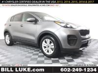 Options:  2018 Kia Sportage Lx|Silver|All Performed