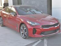 Red 2018 Kia Stinger GT2 AWD 8-Speed Automatic 3.3L V6