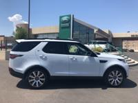 White 2018 Land Rover Discovery HSE 4WD ZF 8-Speed
