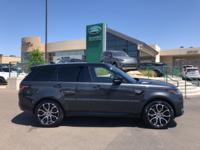 Grey 2018 Land Rover Range Rover Sport HSE 4WD 8-Speed