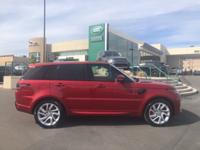 Red 2018 Land Rover Range Rover Sport Supercharged 4WD