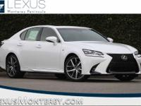 Ultra White 2018 Lexus GS 350 RWD 8-Speed Automatic