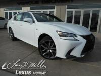 Boasts 27 Highway MPG and 19 City MPG! This Lexus GS