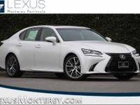 White Pearl 2018 Lexus GS 350 RWD 8-Speed Automatic