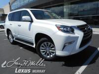 Scores 18 Highway MPG and 15 City MPG! This Lexus GX