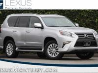 Silver 2018 Lexus GX 460 4WD 6-Speed Automatic with