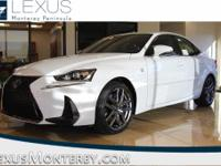 Ultra White 2018 Lexus IS 350 RWD 8-Speed Automatic