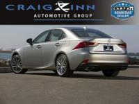 Recent Arrival! Clean CARFAX. Caviar 2018 Lexus IS 350