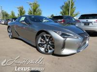 Scores 26 Highway MPG and 16 City MPG! This Lexus LC