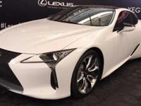 ***LEXUS CERITFIED*** and 2018 Lexus LC 500. All