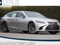 Liquid Platinum 2018 Lexus LS 500 Base RWD 10-Speed