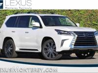 How enticing is this handsome-looking 2018 Lexus LX?