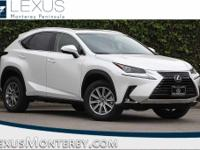 White Pearl 2018 Lexus NX 300 Base FWD 6-Speed