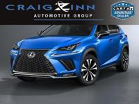 Recent Arrival! Clean CARFAX. 2018 Lexus NX FWD 6-Speed