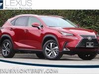 Matador Red Mica 2018 Lexus NX 300 Base AWD 6-Speed