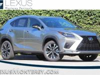 Atomic Silver 2018 Lexus NX 300 F Sport AWD 6-Speed