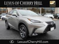 2018 Lexus NX 300 Base Certified. CARFAX One-Owner.