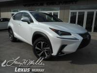 Delivers 30 Highway MPG and 33 City MPG! This Lexus NX