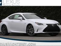 Ultra White 2018 Lexus RC 300 RWD 8-Speed Automatic