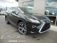Scores 26 Highway MPG and 19 City MPG! This Lexus RX
