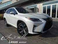 Delivers 26 Highway MPG and 19 City MPG! This Lexus RX