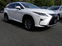 2018 Lexus RX 350L AWD, Lb41/Noble Brown Leather.