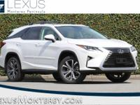 Eminent White Pearl 2018 Lexus RX 350L AWD 8-Speed
