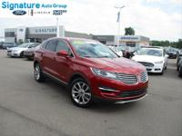 Options:  2018 Lincoln Mkc Select|Ruby Red Metallic