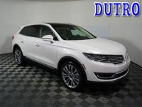 2018 Lincoln MKX Reserve Highlights Include..., AWD,