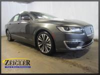 2018 Lincoln MKZ Reserve Magnetic Gray Metallic AWD