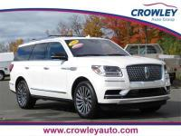 2018 Lincoln Navigator Reserve 4WD in White Platinum